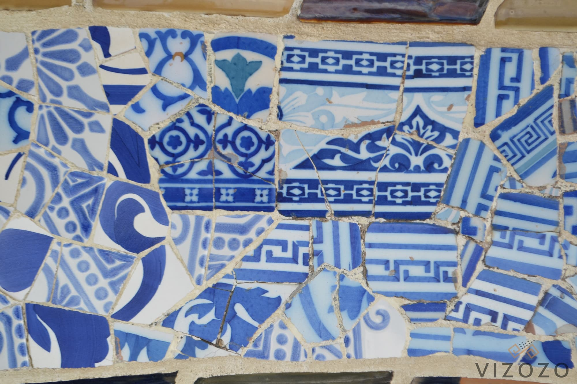 Mosaicos park guell